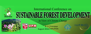 International Conference on Sustainable Forest Development in View of Climate Change (SFDCC-2016)