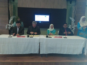 The signing of the MoU BETWEEN UPM AND  ILAM UNIVERSITY